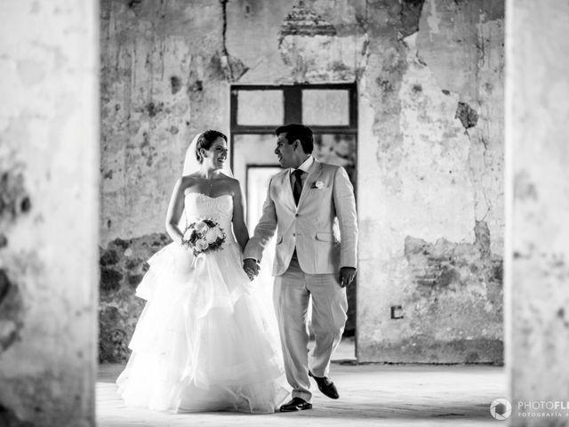 La boda de Efrén y Alexandra en Jiutepec, Morelos 2