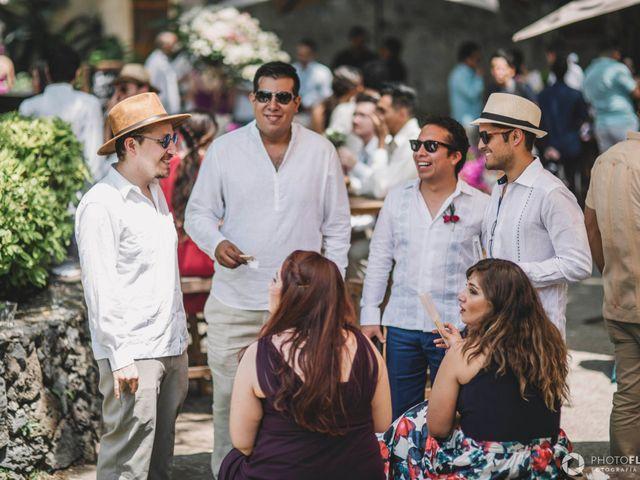 La boda de Efrén y Alexandra en Jiutepec, Morelos 44