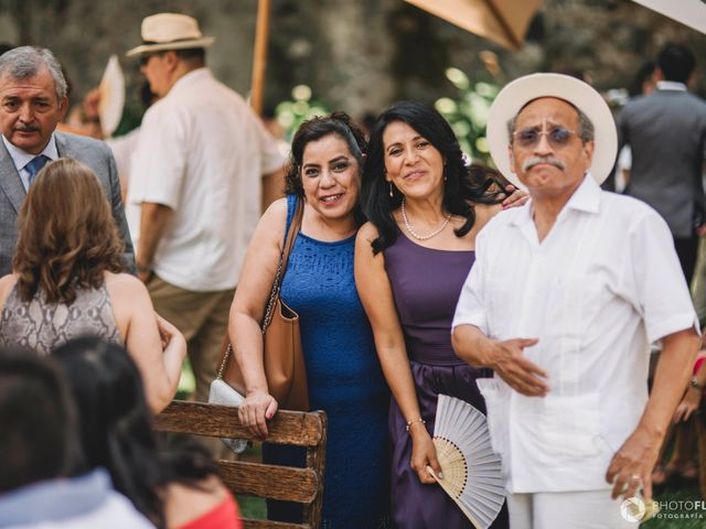 La boda de Efrén y Alexandra en Jiutepec, Morelos 45