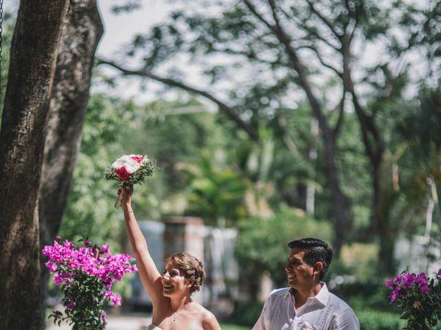 La boda de Efrén y Alexandra en Jiutepec, Morelos 53