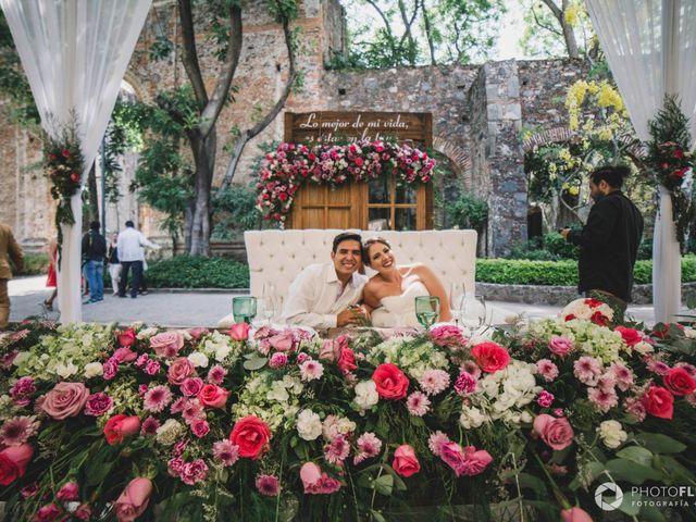 La boda de Efrén y Alexandra en Jiutepec, Morelos 54