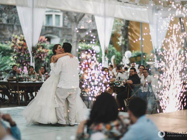 La boda de Efrén y Alexandra en Jiutepec, Morelos 55