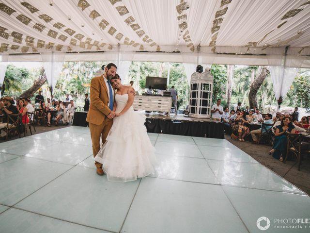 La boda de Efrén y Alexandra en Jiutepec, Morelos 58