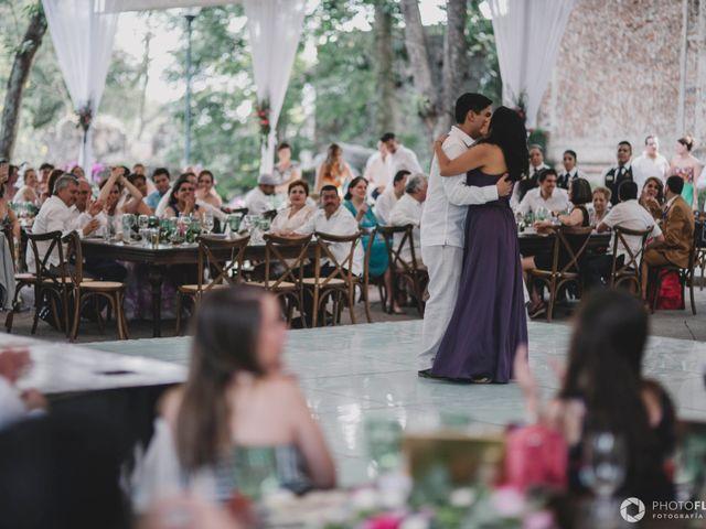 La boda de Efrén y Alexandra en Jiutepec, Morelos 59