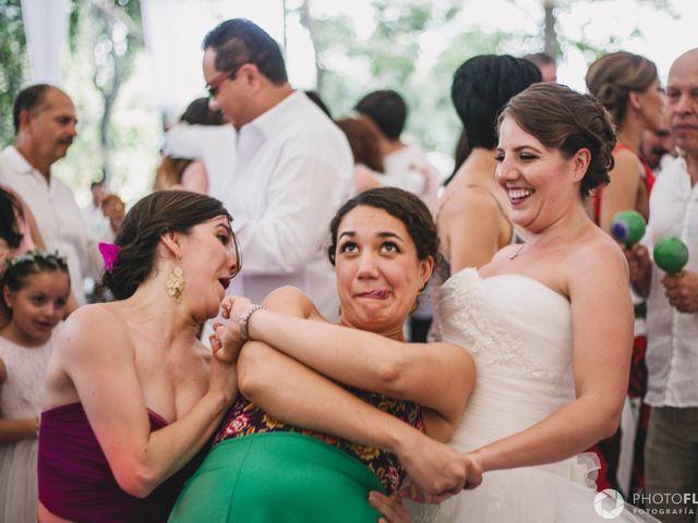 La boda de Efrén y Alexandra en Jiutepec, Morelos 61