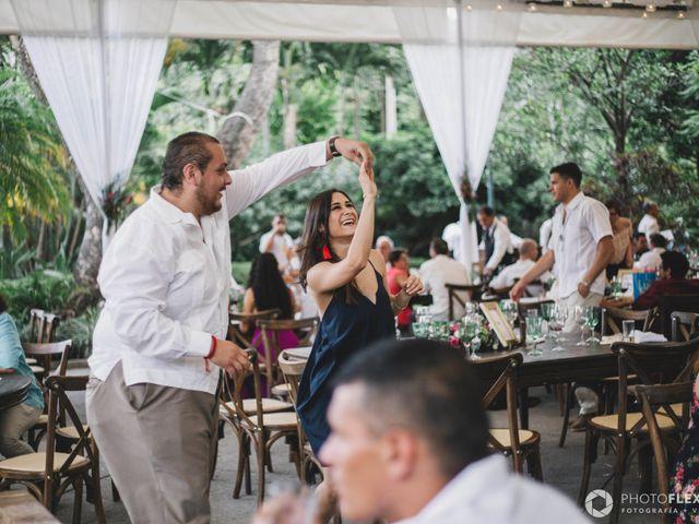 La boda de Efrén y Alexandra en Jiutepec, Morelos 62