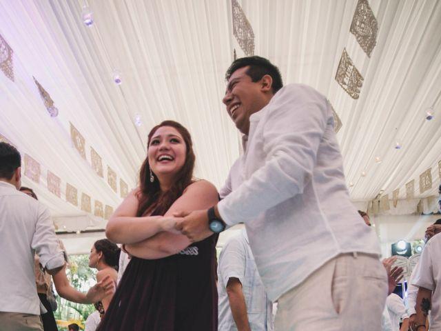 La boda de Efrén y Alexandra en Jiutepec, Morelos 69