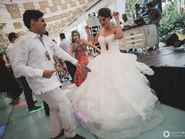 La boda de Efrén y Alexandra en Jiutepec, Morelos 70