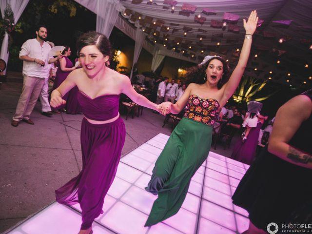 La boda de Efrén y Alexandra en Jiutepec, Morelos 71