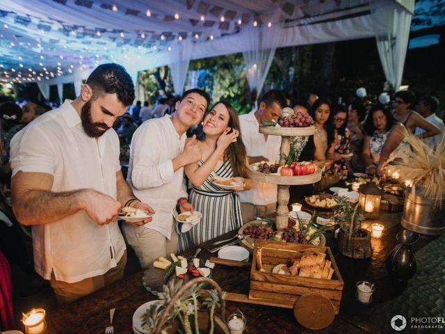La boda de Efrén y Alexandra en Jiutepec, Morelos 72
