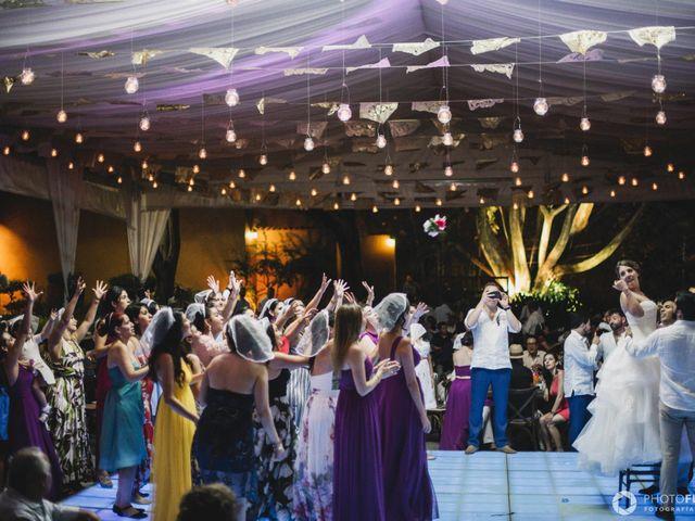 La boda de Efrén y Alexandra en Jiutepec, Morelos 73