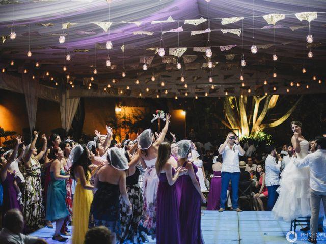 La boda de Efrén y Alexandra en Jiutepec, Morelos 74