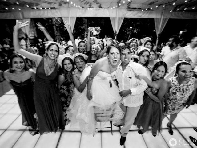 La boda de Efrén y Alexandra en Jiutepec, Morelos 75