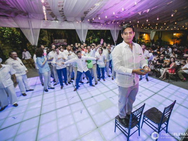 La boda de Efrén y Alexandra en Jiutepec, Morelos 77