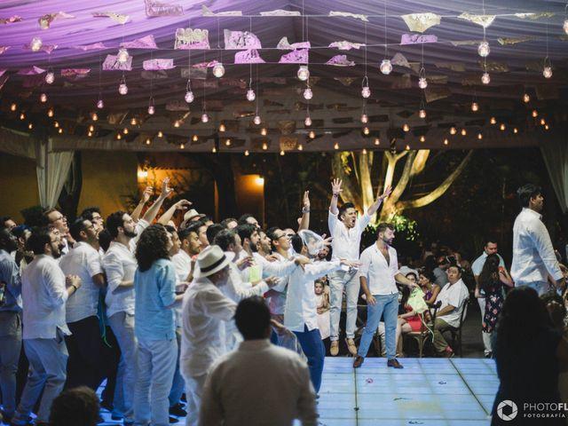 La boda de Efrén y Alexandra en Jiutepec, Morelos 78