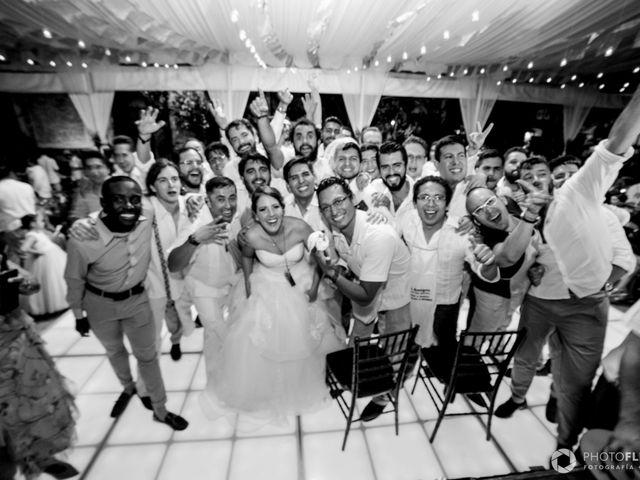 La boda de Efrén y Alexandra en Jiutepec, Morelos 79