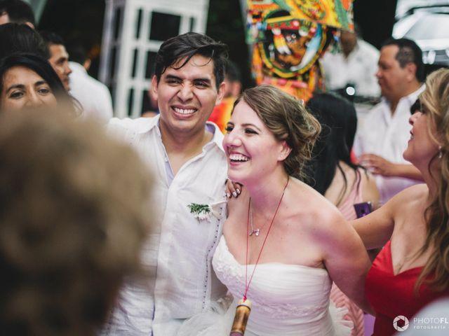 La boda de Efrén y Alexandra en Jiutepec, Morelos 85