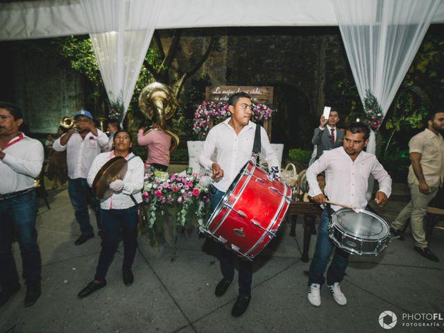 La boda de Efrén y Alexandra en Jiutepec, Morelos 86