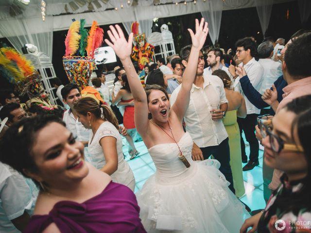 La boda de Efrén y Alexandra en Jiutepec, Morelos 87