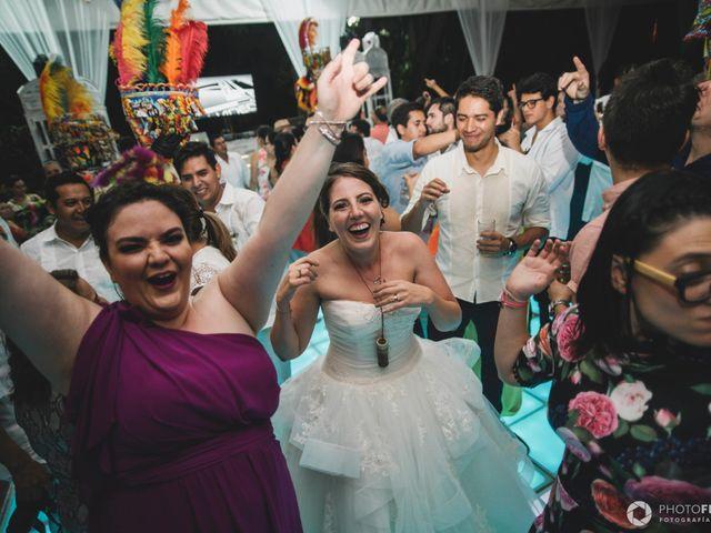 La boda de Efrén y Alexandra en Jiutepec, Morelos 88