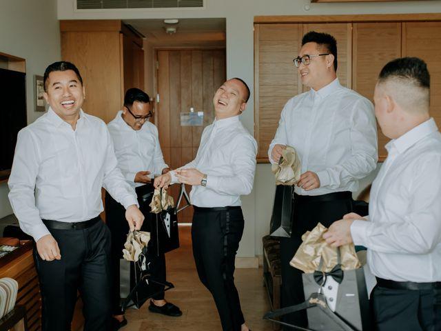 La boda de Kimberly y Malivann en Isla Mujeres, Quintana Roo 6