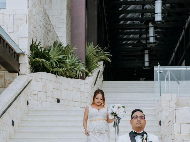 La boda de Kimberly y Malivann en Isla Mujeres, Quintana Roo 14
