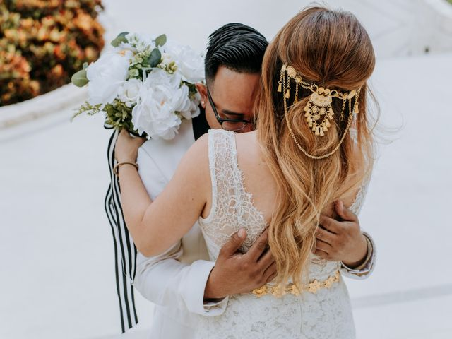 La boda de Kimberly y Malivann en Isla Mujeres, Quintana Roo 17