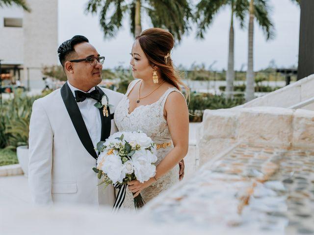 La boda de Kimberly y Malivann en Isla Mujeres, Quintana Roo 19