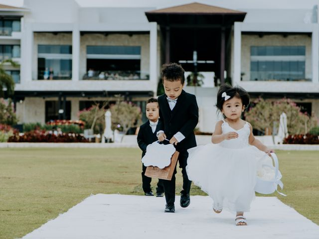 La boda de Kimberly y Malivann en Isla Mujeres, Quintana Roo 21