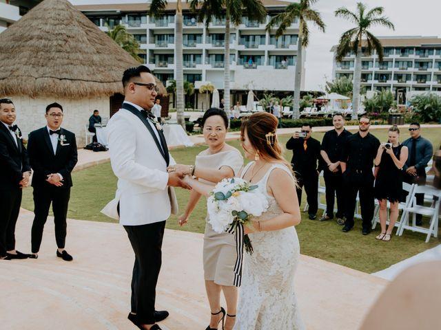 La boda de Kimberly y Malivann en Isla Mujeres, Quintana Roo 23