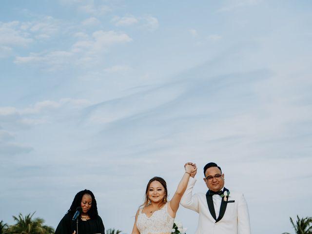 La boda de Kimberly y Malivann en Isla Mujeres, Quintana Roo 24