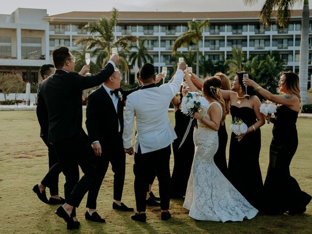 La boda de Kimberly y Malivann en Isla Mujeres, Quintana Roo 27