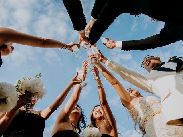 La boda de Kimberly y Malivann en Isla Mujeres, Quintana Roo 28