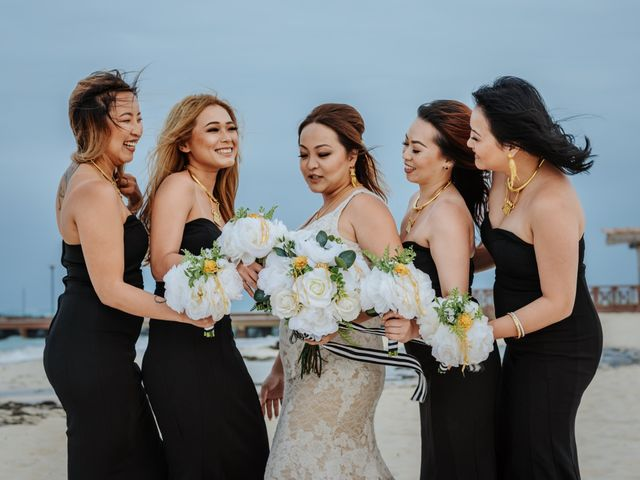 La boda de Kimberly y Malivann en Isla Mujeres, Quintana Roo 30