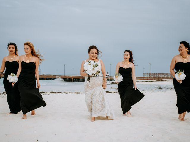 La boda de Kimberly y Malivann en Isla Mujeres, Quintana Roo 31