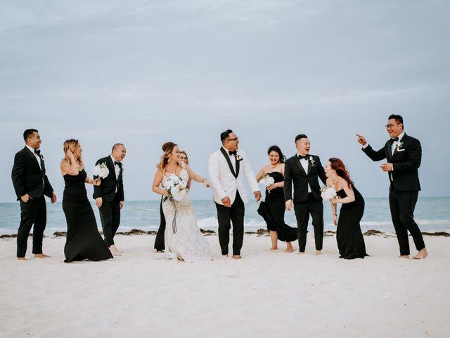 La boda de Kimberly y Malivann en Isla Mujeres, Quintana Roo 34