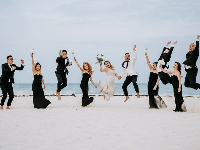 La boda de Kimberly y Malivann en Isla Mujeres, Quintana Roo 1