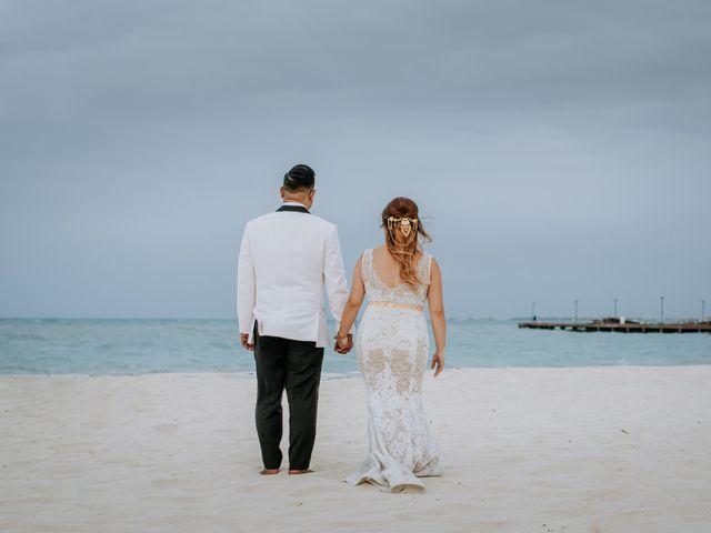 La boda de Kimberly y Malivann en Isla Mujeres, Quintana Roo 36