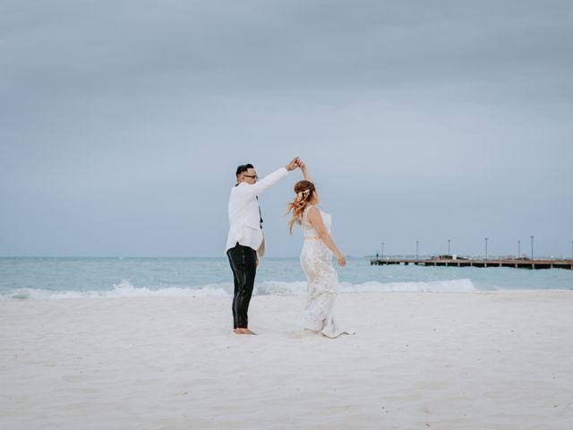 La boda de Kimberly y Malivann en Isla Mujeres, Quintana Roo 2