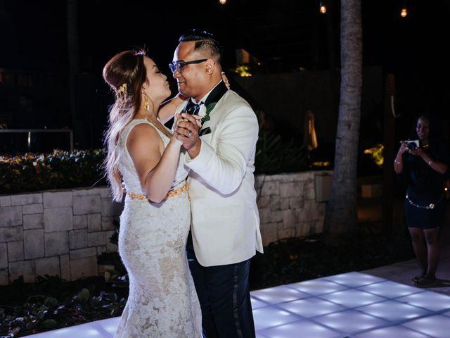 La boda de Kimberly y Malivann en Isla Mujeres, Quintana Roo 38