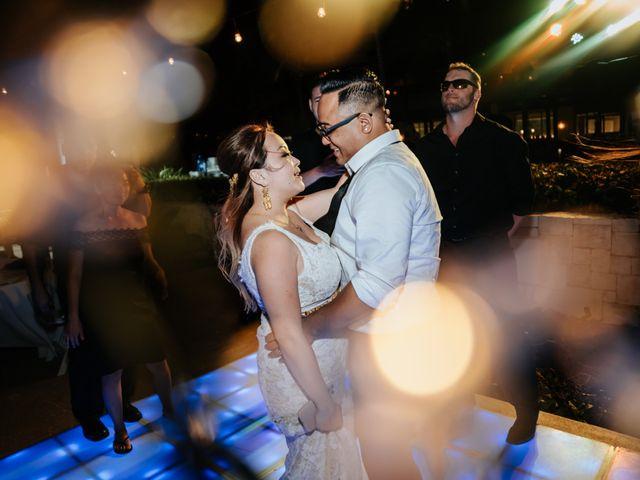 La boda de Kimberly y Malivann en Isla Mujeres, Quintana Roo 47