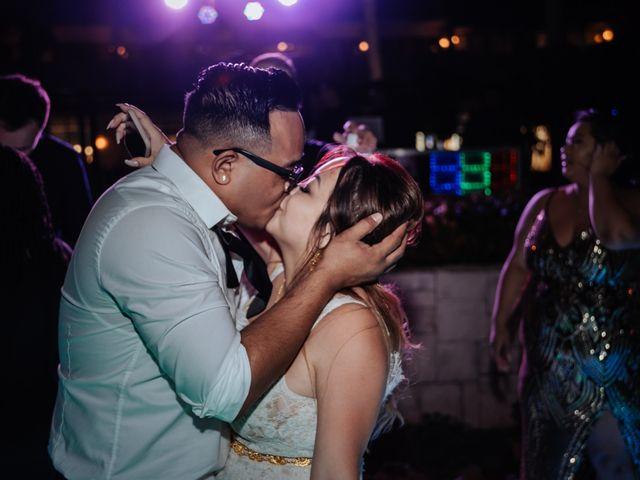 La boda de Kimberly y Malivann en Isla Mujeres, Quintana Roo 48