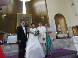 La boda de Edgar y Argelia 1