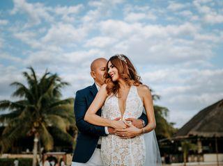 La boda de Karolain y Hugo