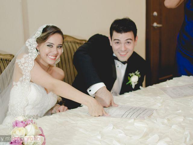 La boda de Alma y César