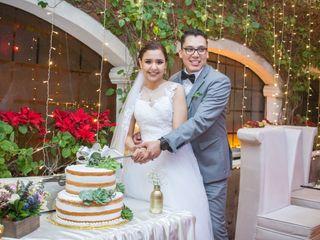 La boda de María Fernanda  y David
