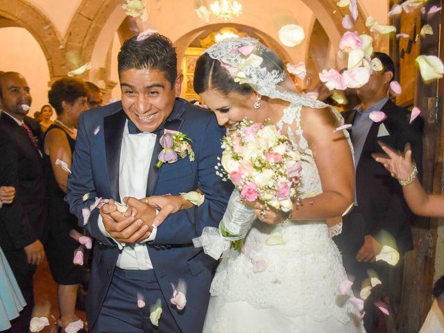 La boda de Fernando y Daniela en Tlajomulco de Zúñiga, Jalisco 33