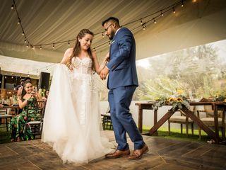 La boda de Stephanie y Abraham 1