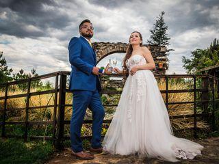 La boda de Stephanie y Abraham