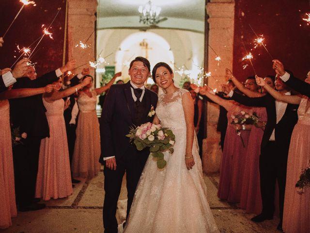La boda de Evelyn y Alex
